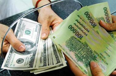 Tỷ giá hối đoái thay đổi theo ngày